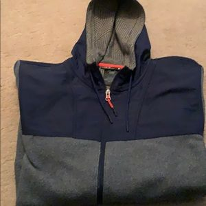 Under Armour Hooded Jacket Fleece Large